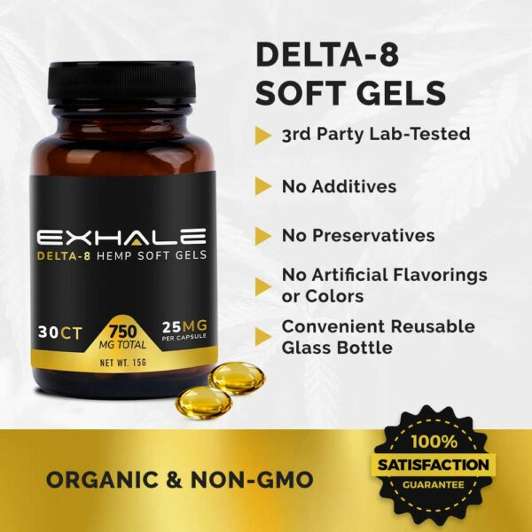 soft gels organic and non-gmo no additives 3rd party tested 100% satisfaction guarantee
