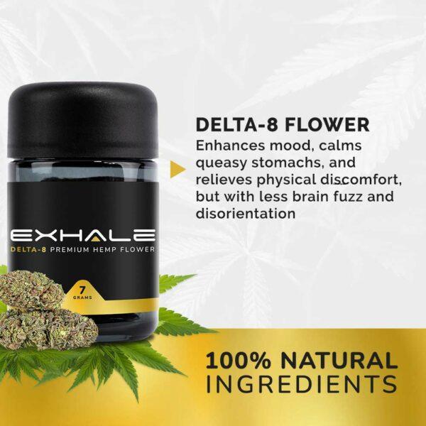100% natural ingredients flower