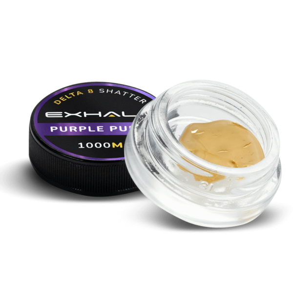 Delta 8 Purple Punch Shatter
